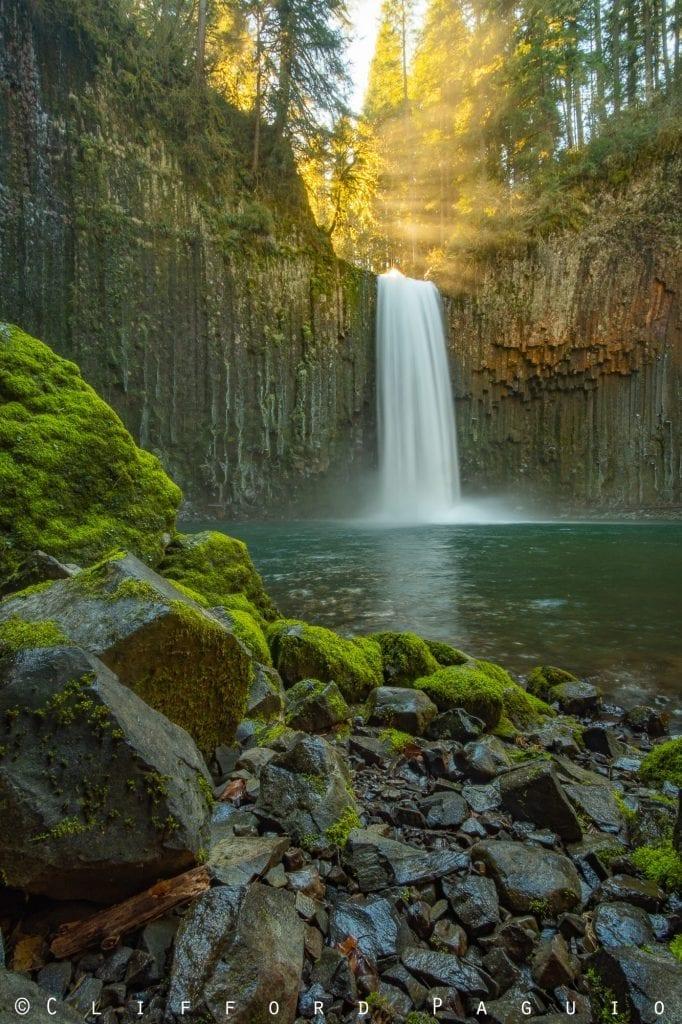 Waterfalls Abiqua Falls